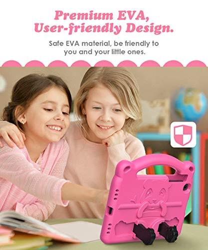 Dadanism Kindgerechte Hülle mit Griff Kompatibel mit Galaxy Tab A 8.4