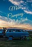 Mein Camping Notizbuch: karriert DIN A5 Reisetagebuch Journal Notizen Logbuch fürs Zelten, Wohnwagen, Wohnmobil, Camper, Caravan, WoMo und Campingplatz