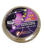 Fa.Co.Plast 914005 Cavetto P/Stendere Ottonato, 100 mt, 5 mm, Trasparente