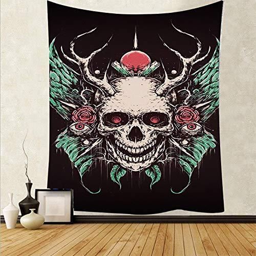 Arte psicodélico tela colgante decoración del hogar tapiz dormitorio dormitorio revestimiento de paredes tela de fondo abstracto a15 130x150 cm