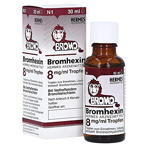 BROMHEXIN Hermes Arzneimittel 8 mg/ml Tropfen 30 ml
