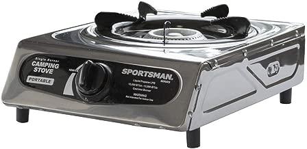Sportsman Series Single Burner Gray Camping Stove