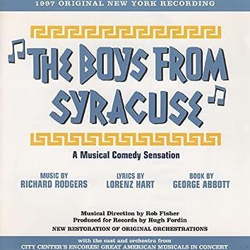 The Boys From Syracuse: A Musical Comedy Sensation (1997 Original New York Recording)