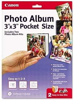 Canon Pocket Size Photo Album, 3 x 3