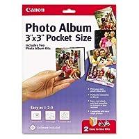 Canonポケットサイズフォトアルバム、3x 3