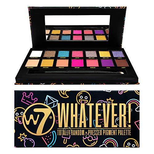 W7   Eyeshadow Palette   Whatever! Eyeshadow Palette   14 Shades