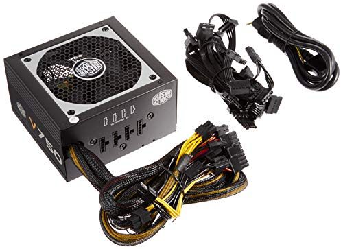 Cooler Master V750 Semi-Modular 140mmのコンパクトサイズ80PLUS GOLD電源 日本正規代理店品 RS750-AMAAG1-JP PS442