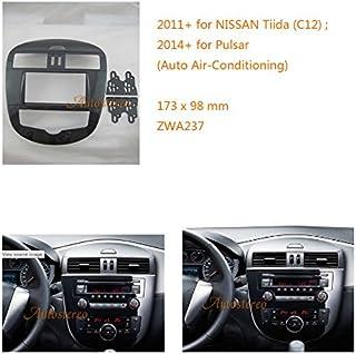 zwnav coche Audio Radio Panel de marco de montaje de radio para Nissan Tiida (C12