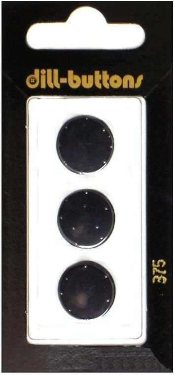 Quality inspection Dill Shank Buttons 5 8 3pc. depot #375 in. Black