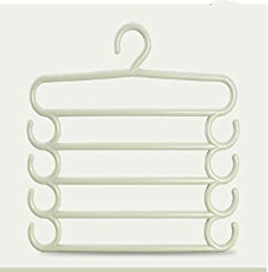 TYZY Multifunctional clothes hanger dormitory supplies Multilayer design Space Saving Magic Clothes Rack 34 5 38 5cm