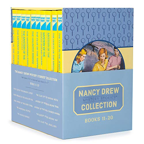 Nancy Drew Books 11-20 The Nancy Drew Mystery Stories Collection Box Set