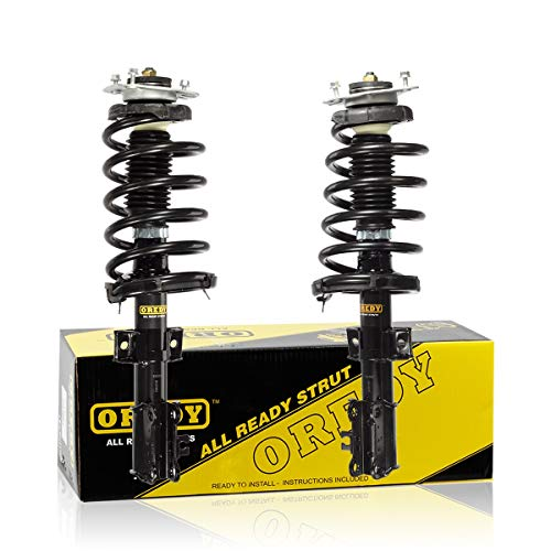 OREDY Shocks Struts 2PCS Complete Struts Assembly 11485 11486 75839242C Front Struts and Shocks Coil Spring Suspension Struts Kit Left and Right Compatible with Volvo XC90 2003-2013