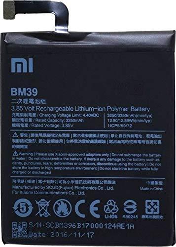 Batería para Xiaomi Mi6 M6 Mi6 BM39 3250 mAh nueva recambio