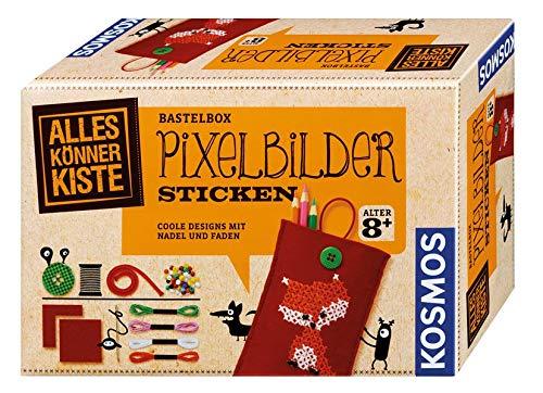 Kosmos 604141 - AllesKönnerKiste, Pixelbilder sticken