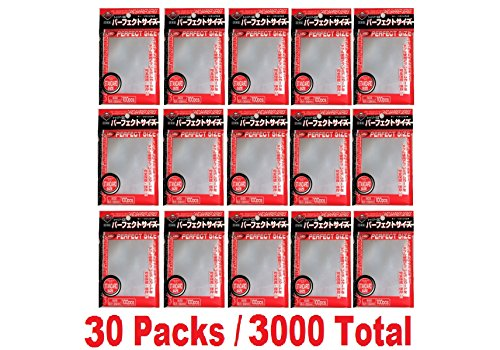 KMC 100 Card Barrier Perfect Size (30 Packs/Total 3000) image