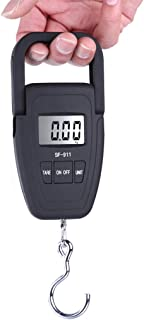 Portable Scale Electronic Scale Portable Express Called Hook Scale Luggage Weighing 50g Black (Color : Black)