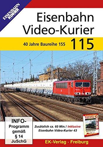 Eisenbahn Video-Kurier 115 - 40 Jahre Baureihe 155