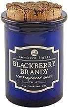 Northern Lights Candles Spirit Jar Candle, 5 oz, BlackBerry Brandy