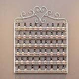 Estante de almacenamiento de metal para esmalte de uñas, Estante de exhibición...