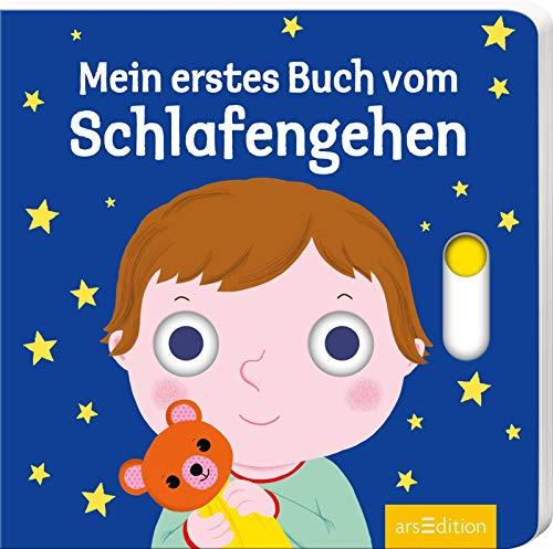 Mein erstes Buch vom Schlafengehen: Mit stabilen Schiebern | Die Bestsellerreihe mit lustigen Schiebern, fördert die Feinmotorik und den Spracherwerb für Kinder ab 18 Monaten