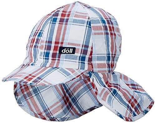 Döll Jungen Baseballmütze mit Nackenschutz Kappe, Blau (Total Eclipse|Blue 3000), 53