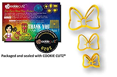 Cute Bow Cookie Cutters (All Sizes Set)