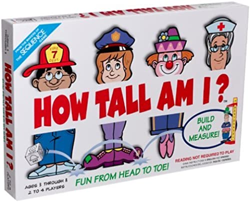 orden en línea How How How Tall Am I Game by Jax  El nuevo outlet de marcas online.