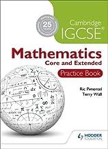 Cambridge IGCSE Mathematics Core and Extended Practice Book (Cambridge Igcse Practice Book)