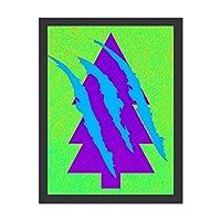 INOV STA 記号 30x40cm 絵画 インテリア 額入り・Mサイズ 玄関に飾る絵画 風水 壁掛け 絵 リビング アートポスター 病院 店舗 開運 壁飾り