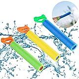 Eurobuy 3 PCS Squirt Water Blaster, Plus Loin et Facile à Charger Piscine d'été Beach Fun Toy, Idéal pour Les Enfants Adult...