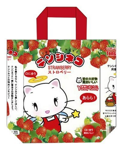 Cinémaniak - Tenshi Neko - Sac Shopping - 11 X 23,5 X 31,5 Cm - Tenshi Neko Et Son Univers