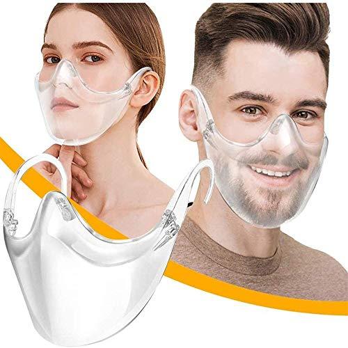 WDXUN 2020 New Radical Alternative Transparent Shield Face Cover Face Shield Innovative Stylish Glasses Face Impact Shield Proof Wind Sand Splash