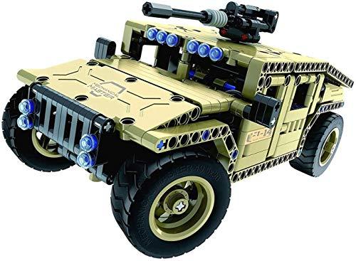 XXT Ladrillos de construcción de juguetes de radio control, 502 piezas de tanque de kit de coche con USB de la batería recargable, Construcción construir por sí mismo Juguetes for el regalo de los niñ
