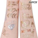 Unomor 56PCS Team Bride Tattoos Hochzeit Tattoo Junggesellinnenabschied Tattoos, Bachelorette Party...