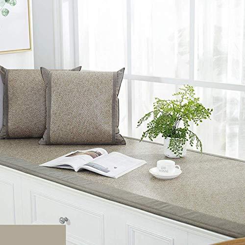 AMYHY Funda de sofá Moderna alféizar Cojín Bench Seat, Antideslizante de la Ventana del Amortiguador, Apto for Uso Interior Tatami sofá decoración del Dormitorio del hogar de la Sala