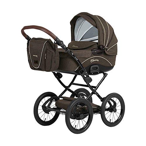 Knorr-Baby 36000-7 Kombikinderwagen Classico, braun