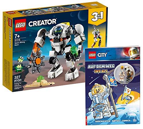 Collectix Lego 31115 Lego Creator Space Mech - Juego de cartas de Lego (en alemán)