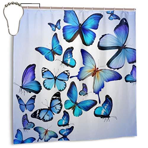 Throwpillow Butterfly-Backgrounds-For-Desktop-Wallpaper, Cortina de Ducha de decoración del hogar 72inX72in