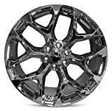 Road Ready Car Wheel For 2015-2019 Cadillac Escalade 22 Inch Chrome Rim Fits R22 Tire - Exact OEM Replacement