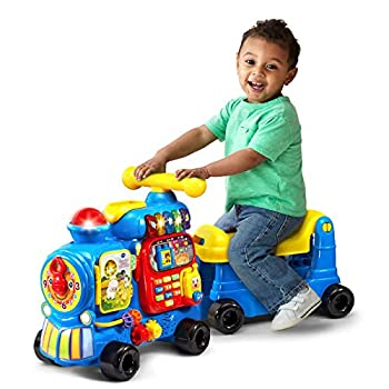 VTech Sit-to-Stand Ultimate Alphabet Train Blue