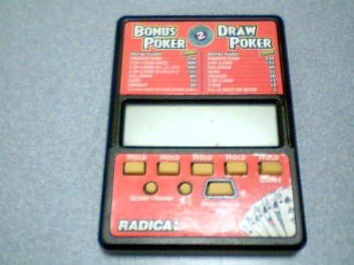 Radica Model#517 Bonus Poker Draw Two Price reduction Game San Francisco Mall