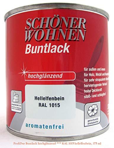 0,375L Schöner Wohnen ProfiDur Buntlack hg RAL 1015 hellelfenbein