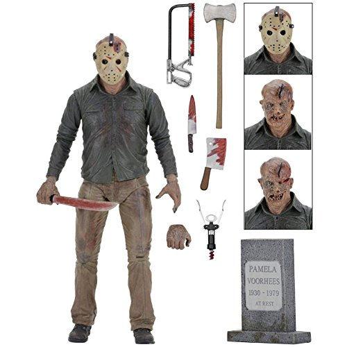 NECA - Friday the 13th - Ultimate Part 4 Jason 7' Action Figure