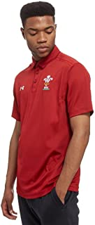 2018-2019 Wales Rugby WRU Team Polo Football Soccer T-Shirt Jersey (Red)