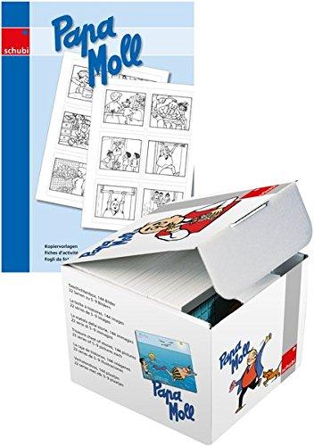 Papa Moll: Bilderbox mit 10 Kopiervorlagen: Die Bilder der Box als Schwarz-Weiß-Vorlagen