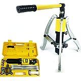 15T Extracteur de moyeu hydraulique extracteur de roue Kit d'outils 3 Jaw Extracteur Pignon Kit Séparateur