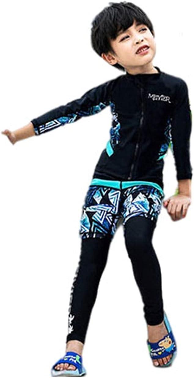 Wetsuit Zipper Ranking TOP10 Diving Suit Split-Type Large Siz Teen 3-Piece Charlotte Mall Set