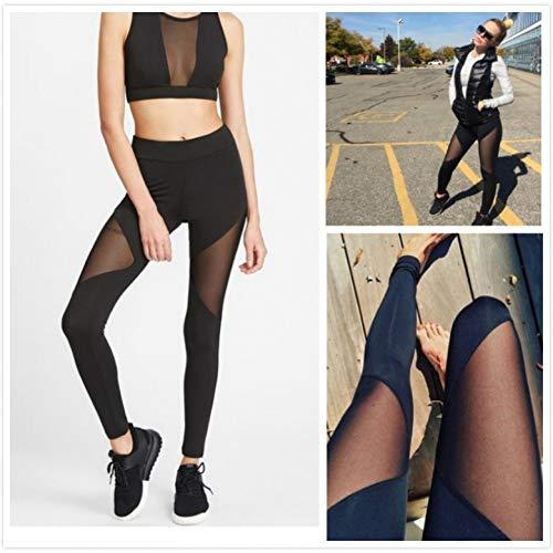 Yundongyi dunne GMY gaasnaden sport fitness yoga broek panty hoge elastische vrouwelijke netten atletische leggings voor vrouwen sportbroek