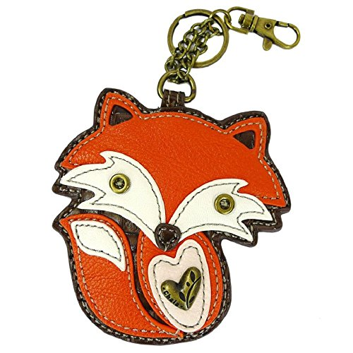 Chala Key Fob/coin Purse (Fire Fox)