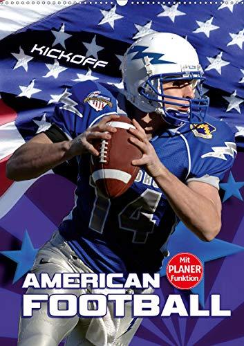 American Football - Kickoff (Wandkalender 2021 DIN A2 hoch)
